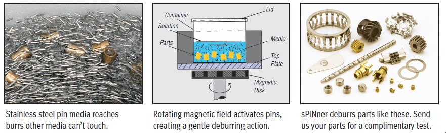 small parts deburring machine